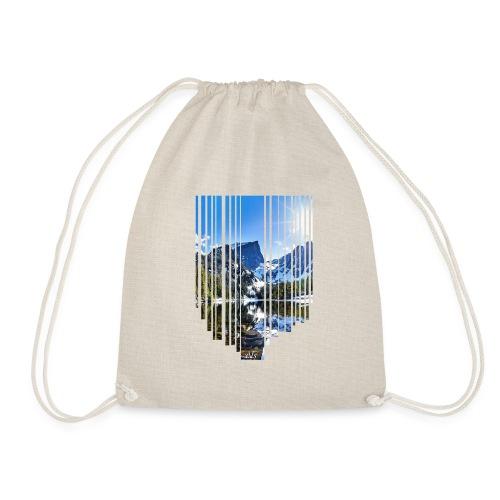 Mountain stripes - Turnbeutel