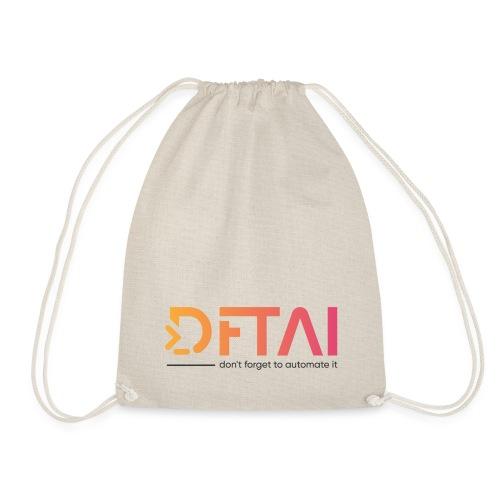 DFTAI Logo - Turnbeutel