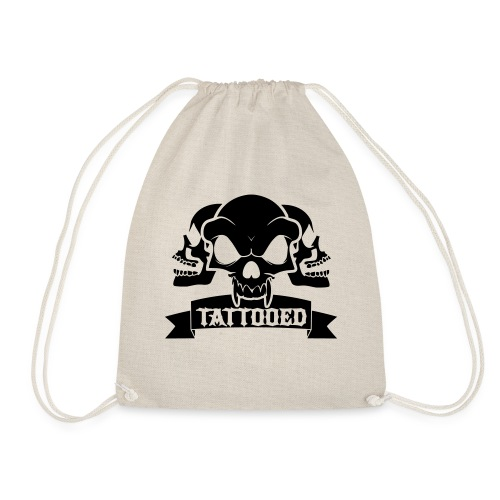 TATTOOED - Drawstring Bag