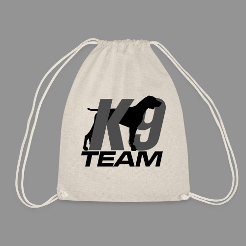K-9 Team - German Shorthaired Pointer - Drawstring Bag