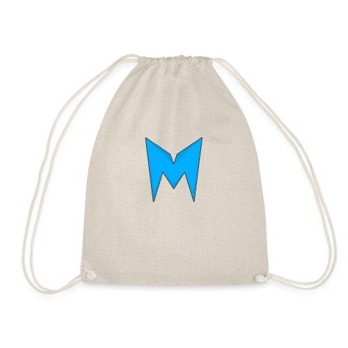 Tee-shirt Madcrow Noir & Logo Bleu - Sac de sport léger