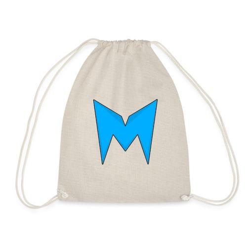 Tee-shirt Madcrow gris & logo bleu sur le torse - Sac de sport léger