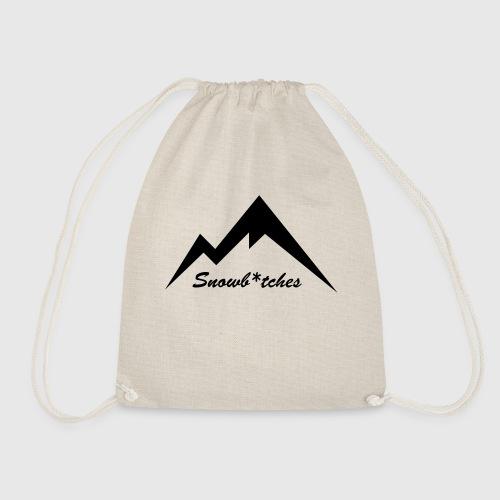 Mountains Logo (W) - Drawstring Bag