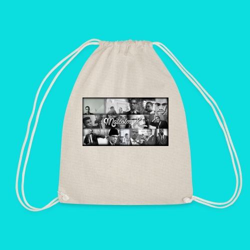 malcolm X - Drawstring Bag