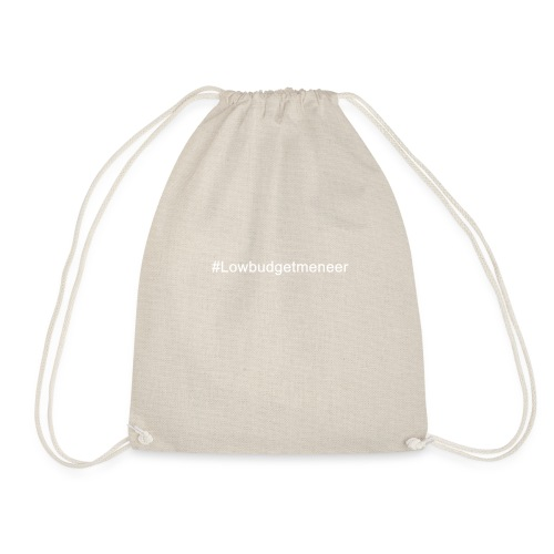 #LowBudgetMeneer Shirt! - Drawstring Bag
