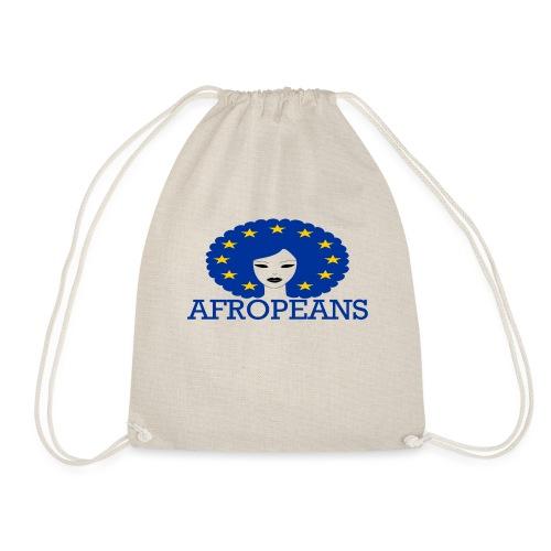 Afropeans Blue - Gymtas