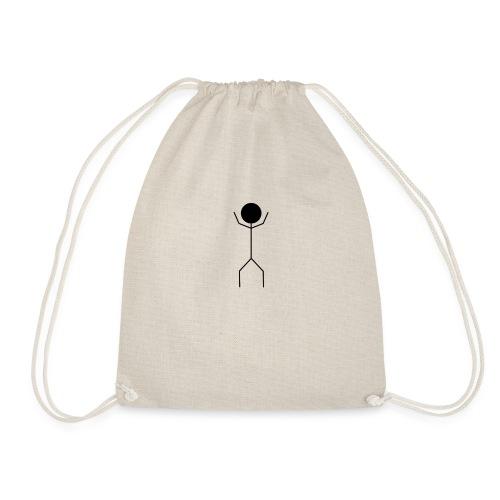 Wise Stickman - Drawstring Bag