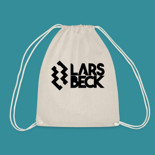 Logo Black - Drawstring Bag
