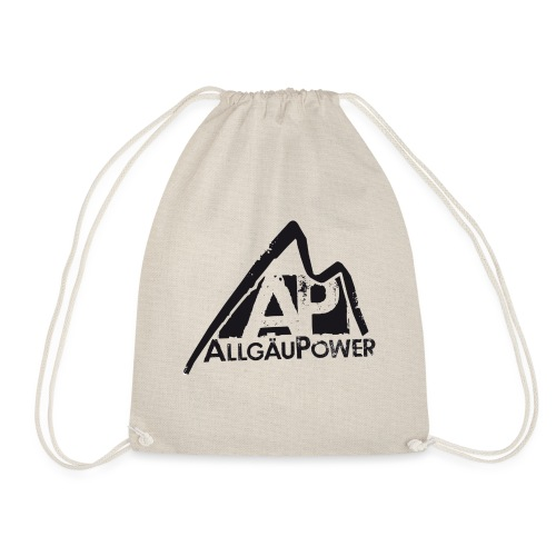 ALLGAEUPOWER LOGO 3 - Turnbeutel