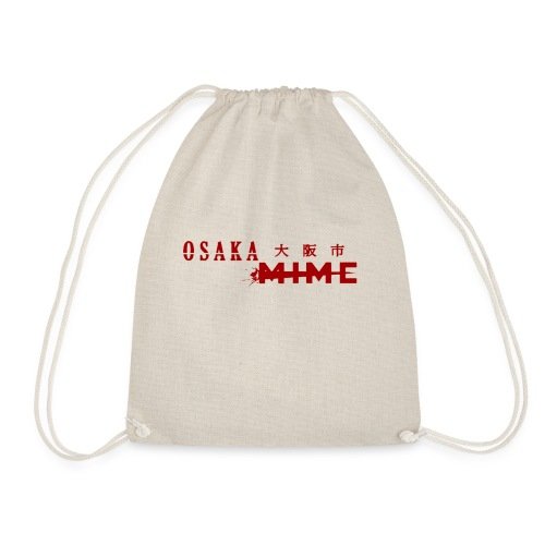 Osaka Mime Logo - Drawstring Bag