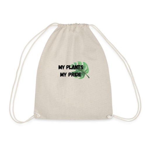 My Plants My Pride - Drawstring Bag