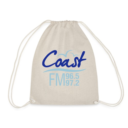 Coast FM colour logo - Drawstring Bag
