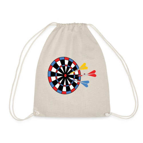 Dartboard with Darts - Gymtas
