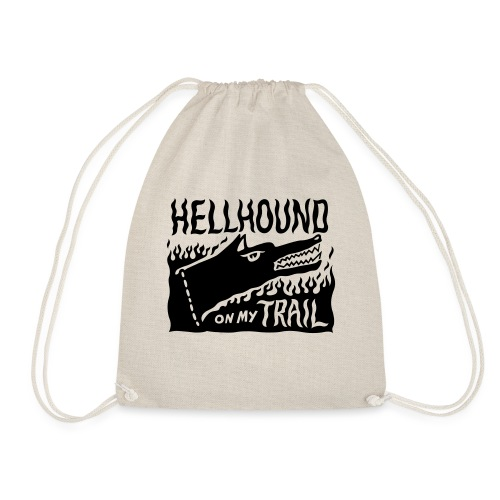 Hellhound on my trail - Drawstring Bag