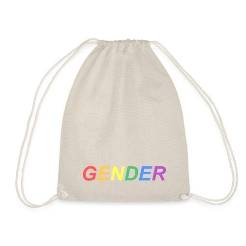 Rainbow Gender - Drawstring Bag