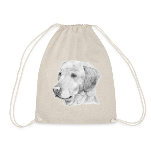 Golden retriever 2 - Sportstaske