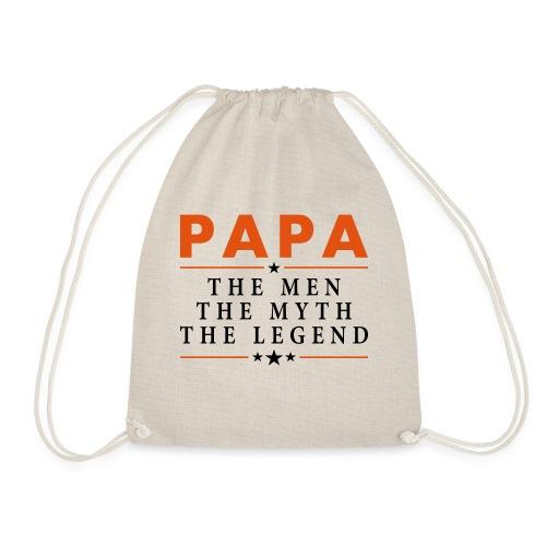 PAPA THE LEGEND - Drawstring Bag