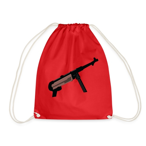 Mp40 german gun maschinenpistole 40 - Drawstring Bag