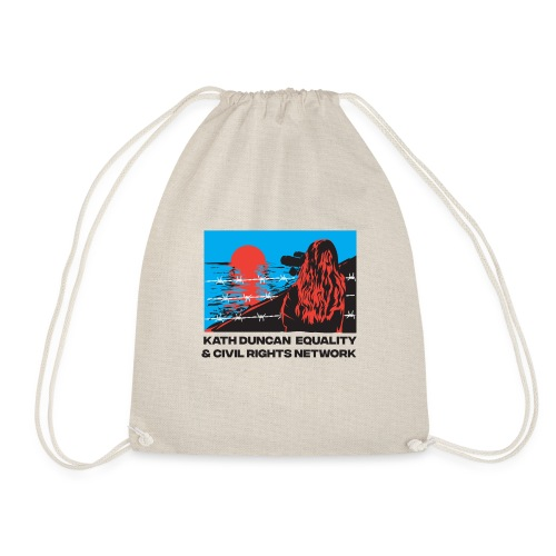 Kath Duncan Equality and Civil Rights Network - Drawstring Bag