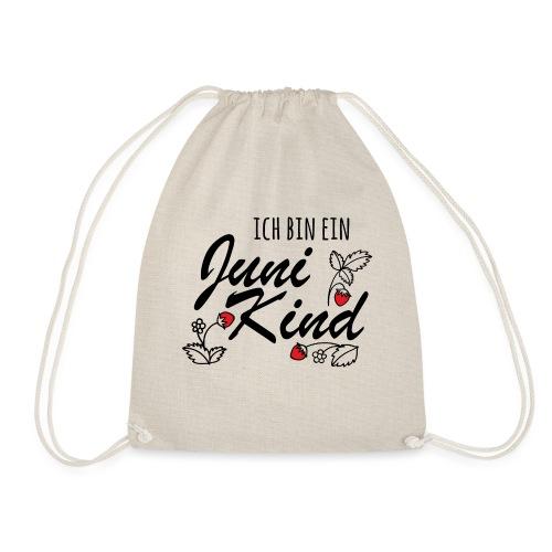 Juni Geburtstag Kind Shirt lustiges Geschenk - Turnbeutel