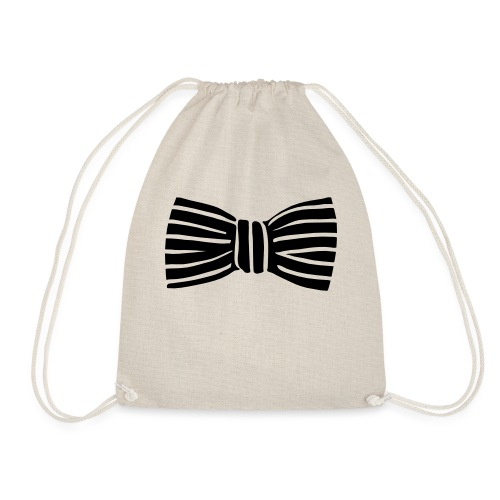 bow_tie - Drawstring Bag
