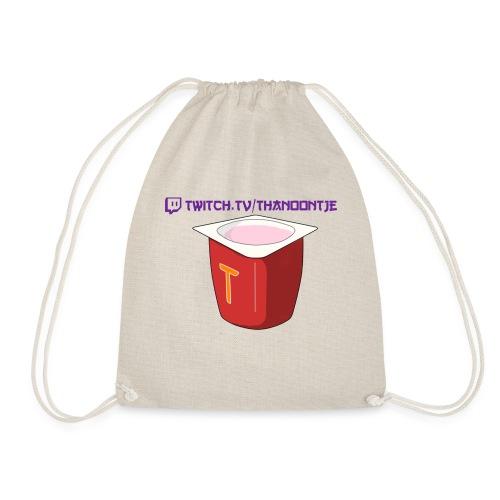 Snapback Thanoontje logo - Drawstring Bag