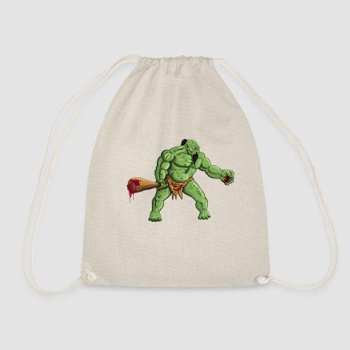 Angry Ogre - Drawstring Bag