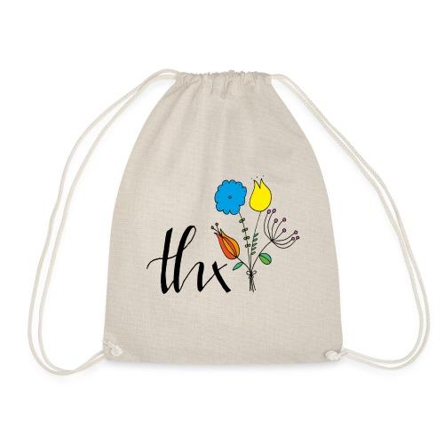 THX Floral - Turnbeutel