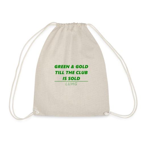 Green & Gold - United - Turnbeutel