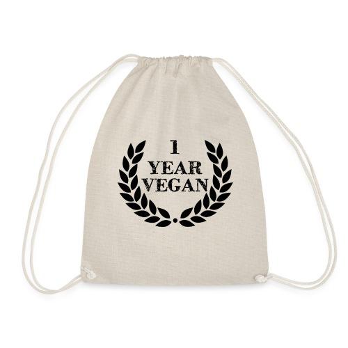 1_year - Drawstring Bag
