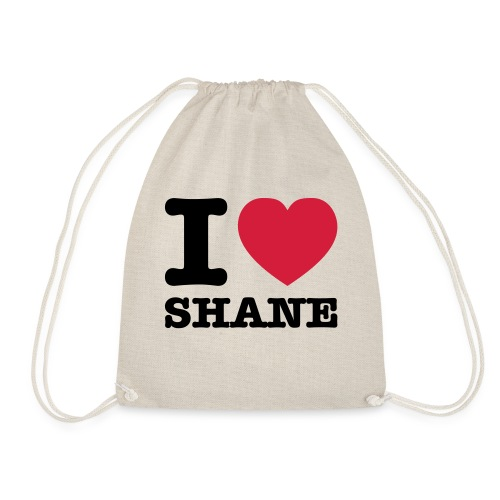 I love Shane - Turnbeutel