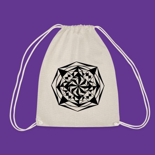 Geometrie Mandala Muster - Turnbeutel