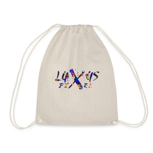 LuxusPixel Logo - Turnbeutel