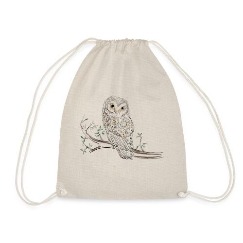 owl stevanka eule - Turnbeutel