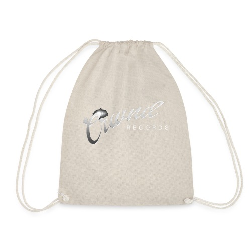 Crwnd Logo Paste - Drawstring Bag