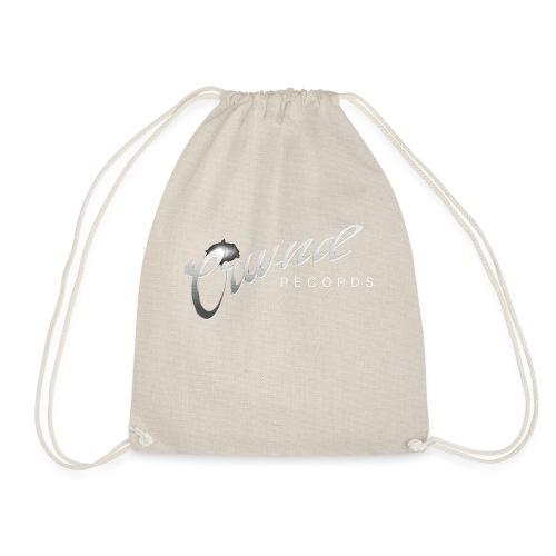 Crwnd Logo Paste - Drawstring Bag