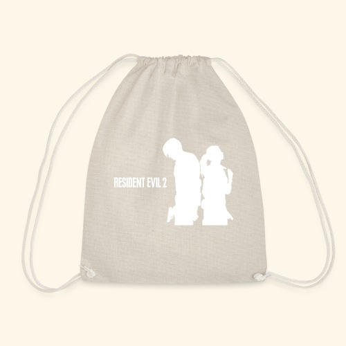RE2 Leon Claire Logo Design - Drawstring Bag