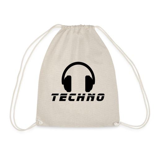 Techno Music - Turnbeutel