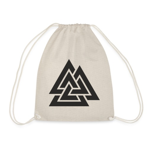 Valknut. Símbolo vikingo - Mochila saco
