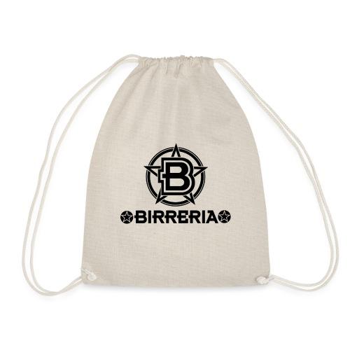 Logo Birreria 2021 Black - Turnbeutel