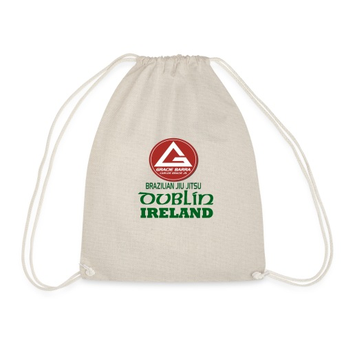 Gracie Barra Dublin Gaelic Celtic Font PNG - Drawstring Bag