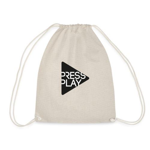 PressPlay logo - Drawstring Bag