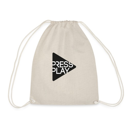 PressPlay logo - Drawstring Bag