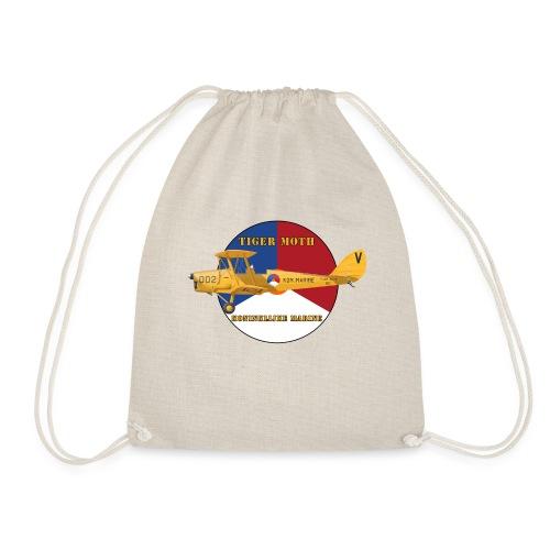 Tiger Moth Kon Marine - Drawstring Bag