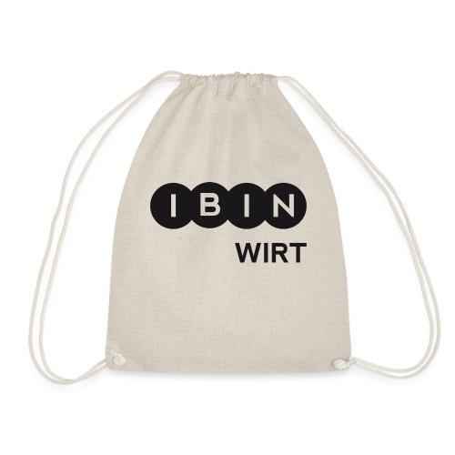 I BIN WIRT-1 - Turnbeutel