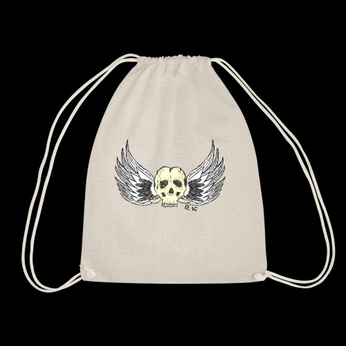 Skull 'n' Wings Color - Turnbeutel
