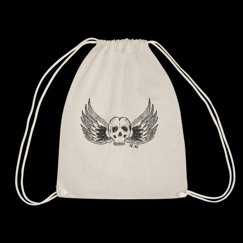 Skull 'n' Wings - Turnbeutel