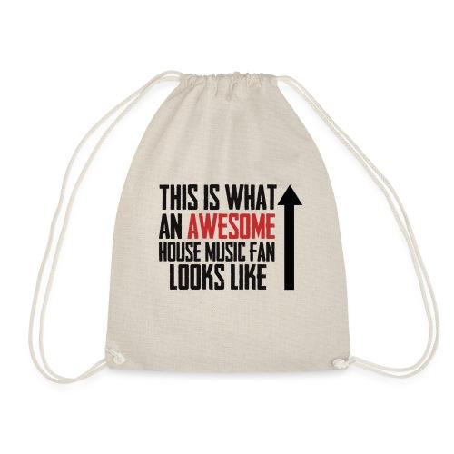 House Music Fan - Drawstring Bag