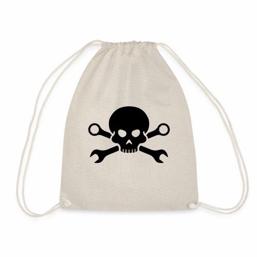 Skull'n'Tools Pirate Skull - Drawstring Bag