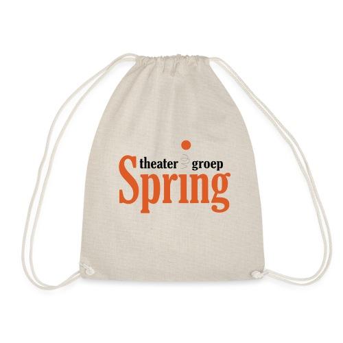 T-shirt met logo Theatergroep Spring | Unisex - Gymtas